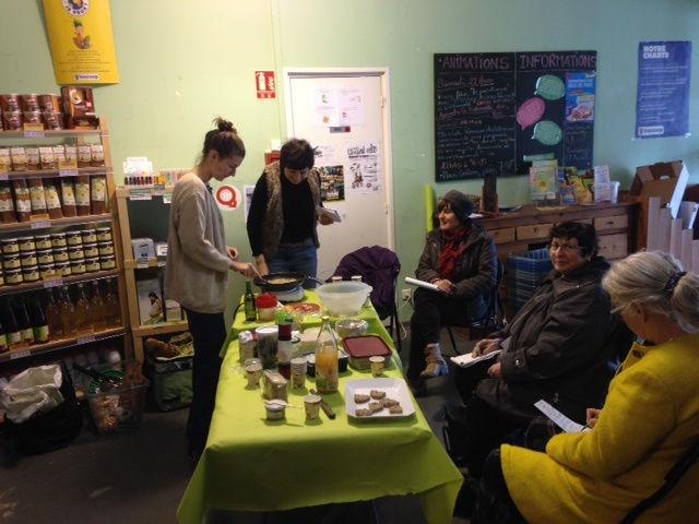 Recettes de notre atelier cuisine et nutrition d 39 avril sans gluten valenciennes - Magasin bio valenciennes ...