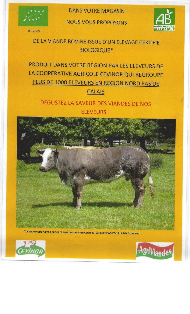 De o vient la viande locale valenciennes - Magasin bio valenciennes ...